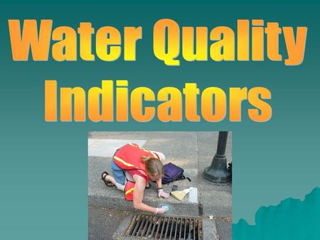 Units for Measuring Water Quality PARTS PER MILLION Most dissolved substances found in water are measured in parts per million (ppm) or even smaller.