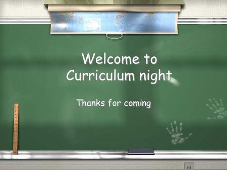 Welcome to Curriculum night Thanks for coming. Meet the teachers Mrs. Erin Ricci Miss Heba Khourshid, student teacher Mrs. Linda Perlini.