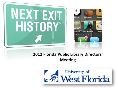 2012 Florida Public Library Directors' Meeting.