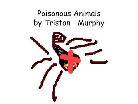 Poisonous Animals by Tristan Murphy. Gaboon Viper Their fangs can be up to 2 inches long. The venom is located in the fangs.