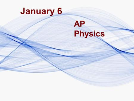 January 6 AP Physics. In: How would the period of a pendulum on earth differ from that on the moon?