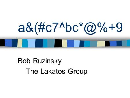 Bob Ruzinsky The Lakatos Group. Accrual Accounting What Is It? Definition: Accounting method that records revenues and expenses when they.