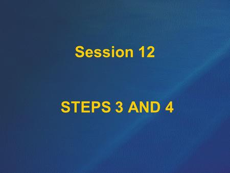 Session 12 STEPS 3 AND 4. Stage 2 Detail Design Submission should include an updated cost estimate and the following: (Not every item listed will apply.