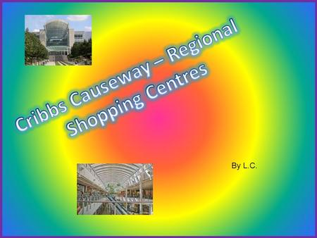 By L.C.. A regional shopping centre provides different shopping services for example clothes shops, cinema and restaurants. They can provide more services.