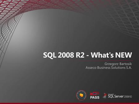 New SQL R2 Technologies Application and Multi-Server Management Managed Self Service Business Intelligence Master Data Services StreamInsight Complex.