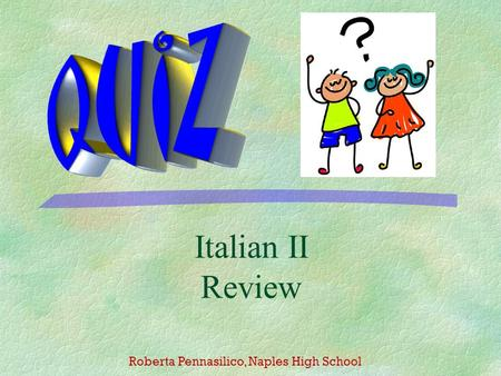 Reflexive and reciprocal pronouns italian