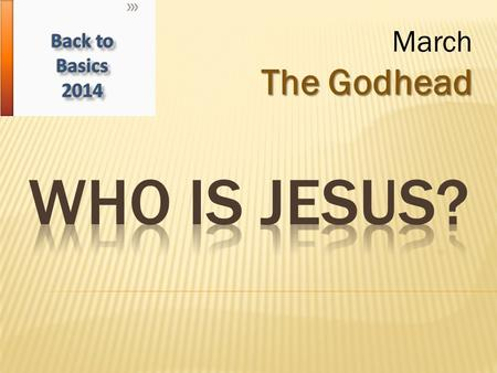 The Godhead March The Godhead. We are sinners and need a Savior. Rom. 3:23, 6:23 God has defined sin 1 John 3:4, Jas. 4:17, Rom. 14:22-23 He also has.
