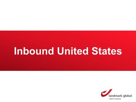 Inbound United States. United States Market overview The US has a population of 313 million inhabitants 184 million buy online They have spent $395 billion.