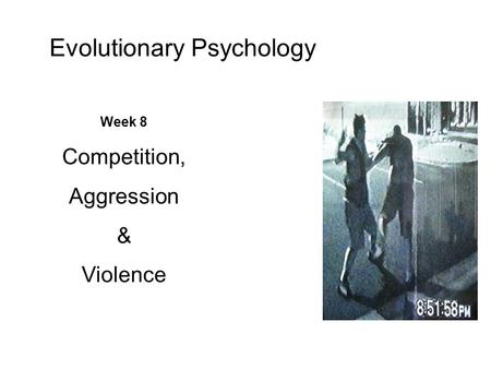 Top 3 Theories of Aggression