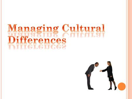 Definition of Culture in Organizational Context Types of Culture The Impact of Personality and Language on Culture Transmitting Information, Listening,