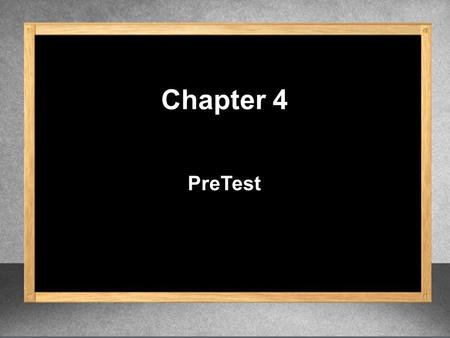 PreTest Chapter 4. Leave your answer in exponent form. 1.(3 6 )(3 4 ) 3 6 + 4 3 10 Product Rule.