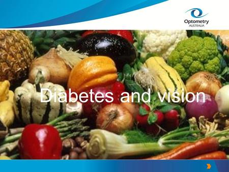 Diabetes and vision. Summary Diabetes facts Changes to the eyes with diabetes Diabetic retinopathy –Background retinopathy –Proliferative retinopathy.