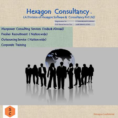 Hexagon Consultancy. (A Division of Hexagon Software & Consultancy Pvt Ltd) Manpower Consulting Services (India & Abroad) Fresher Recruitment ( Nation.