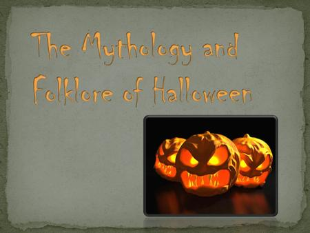 Halloween is rooted in the ancient Celtic holiday of Samhain (pronounced sow- in). Samhain marks the end of the summer and the beginning of the winter.