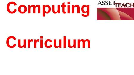 Computing Curriculum. 3 main strands: Digital Literacy Information Technology Computer Science.