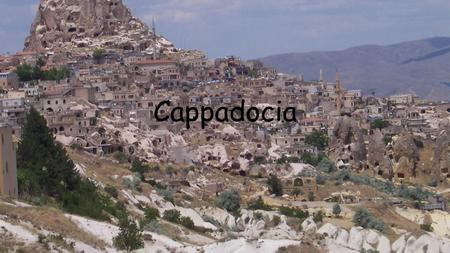 Cappadocia. Cappadocia, ancient district in east-central Anatolia, situated on the rugged plateau north of the Taurus Mountains, in the centre of.