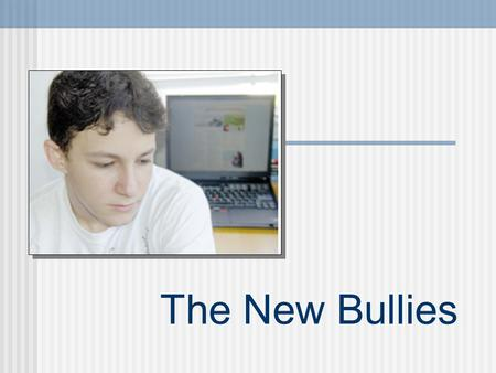 The New Bullies. The Talent Show Vital Stats More than 1/3 of teachers surveyed said social networking Web sites have disrupted their school's learning.