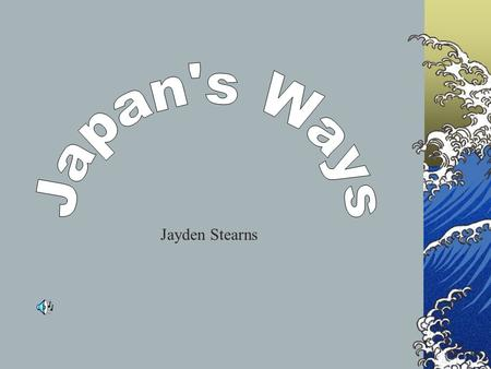 Jayden Stearns. Map of Japan Japanese money is called a Yen. Flag of Japan.