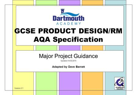 product design specification example pdf