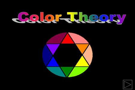 Types of Color Theories 1. 1.Subtractive Theory The subtractive, or pigment theory deals with how white light is absorbed and reflected off of colored.