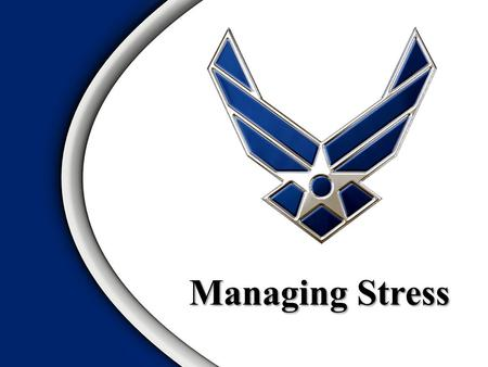 Managing Stress. Definition of Stress Elements of Stress Reactions to Stress Defense Mechanisms Coping Strategies Time Management ExerciseOverview.