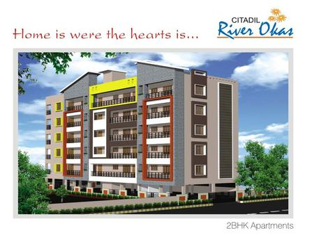2 BHK DELUXE KR PURAM, BANGALORE EAST (CITADIL RIVER OKAS) Prices Starting from 37.5 Lacs Onwards.