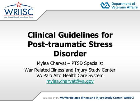 a study of post traumatic stress disorder on veteran women Learn the signs and symptoms of ptsd hear stories from other veterans find treatment options for post-traumatic stress disorder.