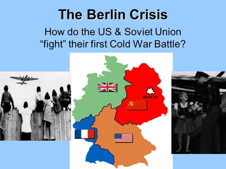 Who was responsible for the beginning of the Cold War, US or USSR? Essay Sample