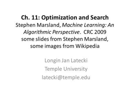 machine learning an algorithmic perspective