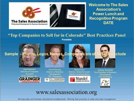 Www.salesassociation.org Serving sales and business development professionals. Sharing best practices in sales and sales management. Welcome to The Sales.