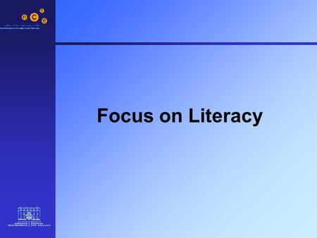 Focus on Literacy. 2 Categories of Software 1.Reinforcement Software Literacy 2.Interactive Books 3.Content-free Software Writing 4.Exploratory Software.