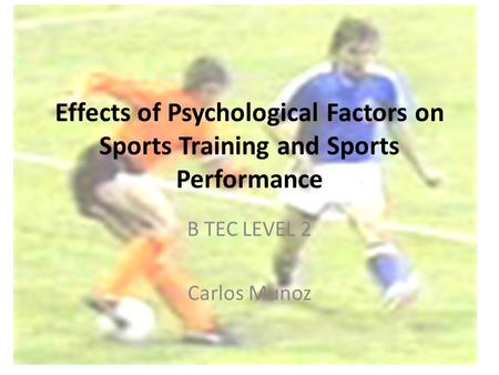 B TEC LEVEL 2 Carlos Munoz