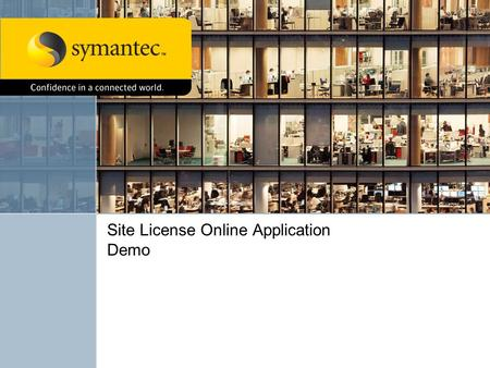 Site License Online Application Demo. Agenda Licensing Portal1 License Draw Down – All User4 License Draw Down – Super Users5 Contract Administration.