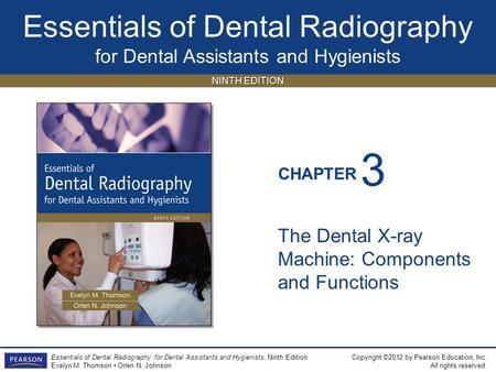 3 The Dental X-ray Machine: Components and Functions.