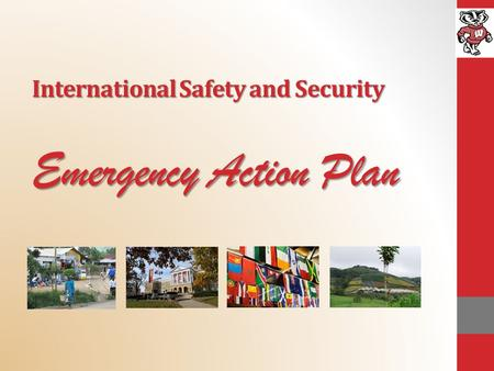 International Safety and Security Emergency Action Plan.