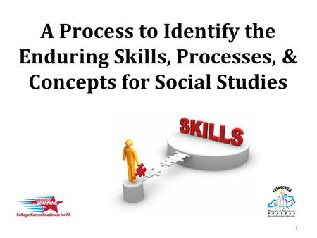 A Process to Identify the Enduring Skills, Processes, & Concepts for Social Studies 1.