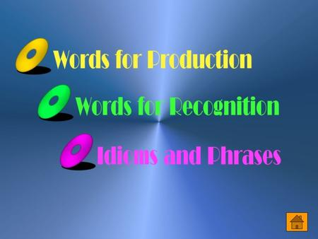 Words for Production 1. circumstance [ `s3k1m&st8ns ] n. [C] (usu. pl.) the conditions of one ' s life, especially the amount of money that one has;