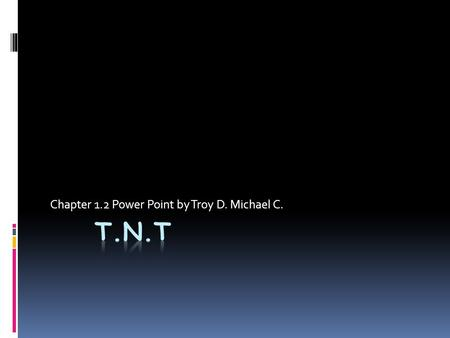 Chapter 1.2 Power Point by Troy D. Michael C.. I/O Interface ( Sound/Sound Card)  Sound Adapters-provides audio capability.