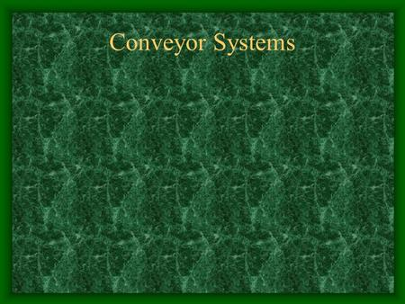 Conveyor Systems GUARDING Protecting Life & Limb.