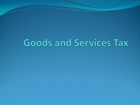 What is the GST? The GST is a broad-based, indirect tax, imposed on private consumption in Australia. It replaced the wholesales tax on 1 July 2000. 2.