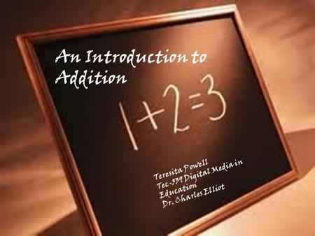 An Introduction to Addition