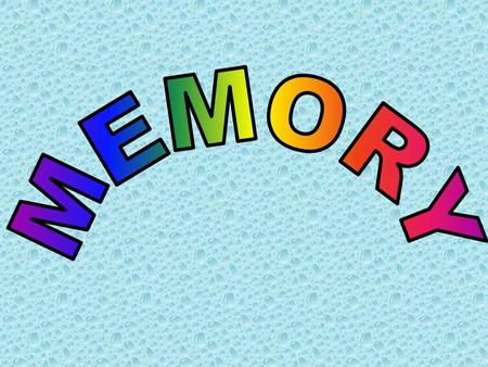 By the end of today's lesson you should be able to… 1. Name at least 3 characteristics of both the short & long term memory 2. Label a diagram showing.