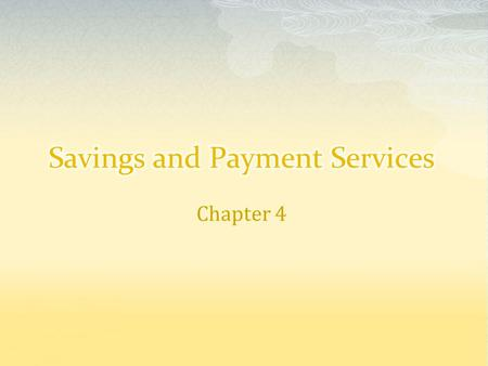 Chapter 4.  Meeting Daily Money Needs Buying groceries, paying the rent, completing other routine spending activities Cash, checks, credit cards, ATM.