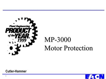 MP-3000 Motor Protection.