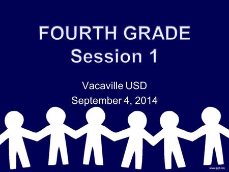 Vacaville USD September 4, 2014