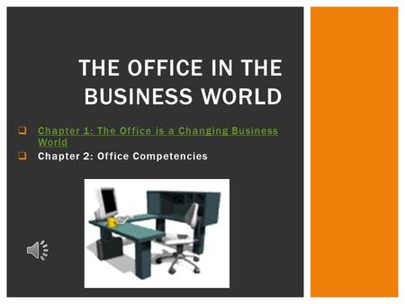 The Office in the Business World