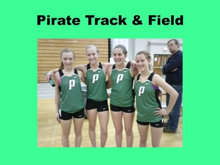Pirate Track & Field.