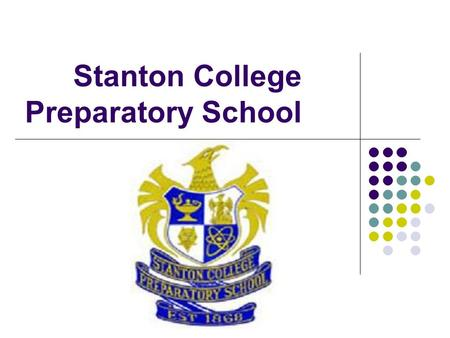 Stanton College Preparatory School. 2 years ago…