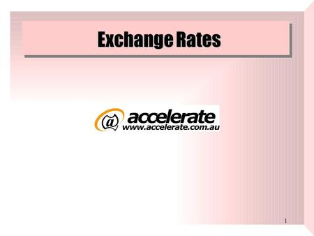 International payment and exchange