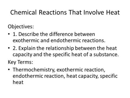 what is the relationship between thermal energy and specific heat